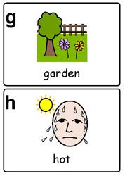 symbols hot and garden