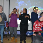 Christmas concert with post 16 students