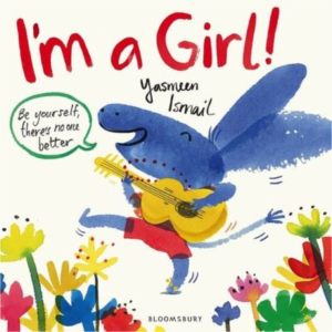 Book cover of I'm a girl