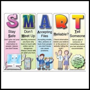 Smart illustration for online safety
