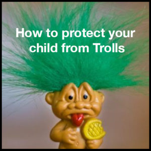 Image of troll toy with green hair