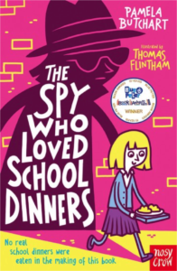 book cover the spy who loved school dinners