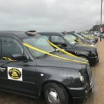 Black Taxis in Hastings for Albany Charity Day