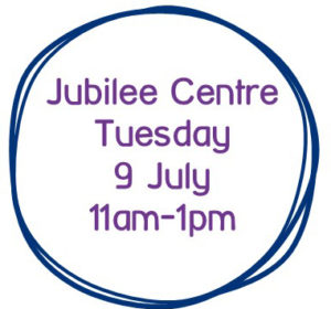 Jubilee Centre and date in a circle