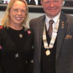 Jane Torvill with Mayor, Hastings 2019