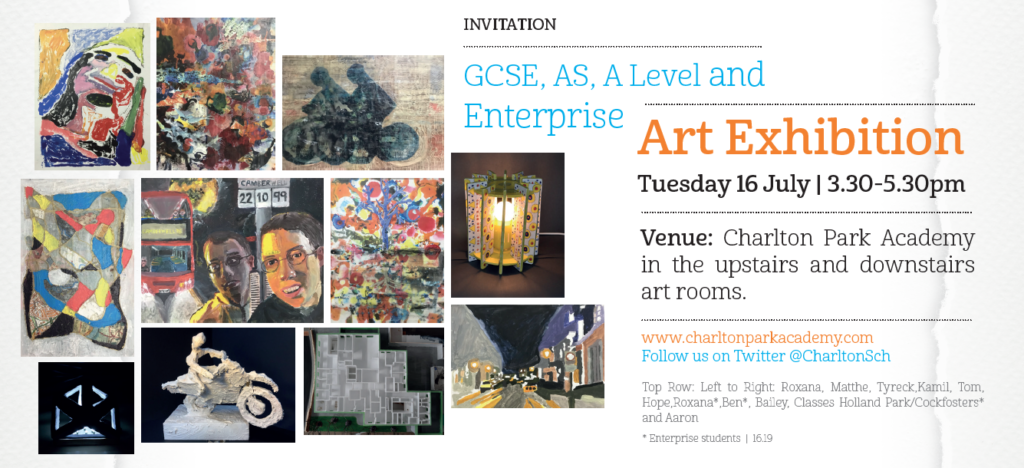 Art invitation