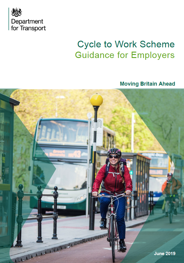 Cover of Government cycle to work document
