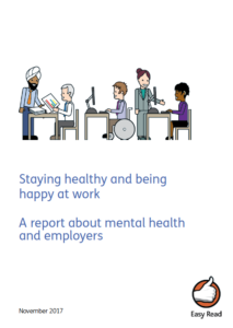 Cover of thriving at work booklet