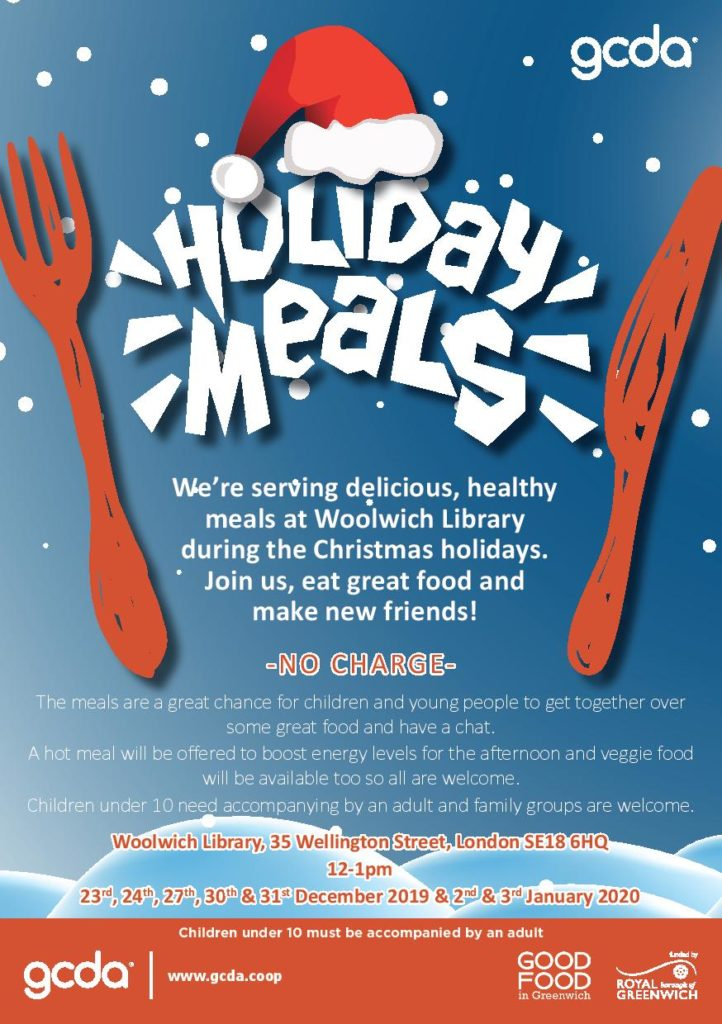 Holiday Meals poster