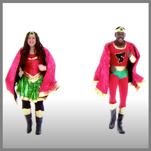 Two superhoeroes
