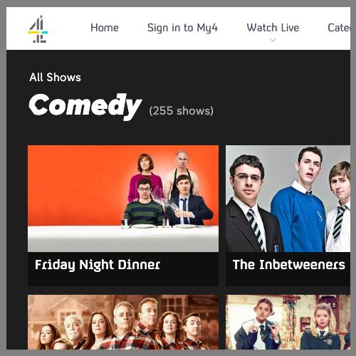 Channel 4 screen saver
