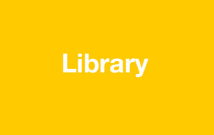 Library on yellow background